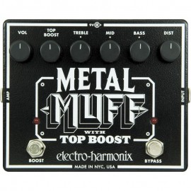 PEDALE ELECTRO-HARMONIX METAL MUFF WITH TOP BOOST