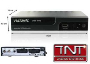 achat decodeur tnt visionic vnt 200 d 39 occasion cash express. Black Bedroom Furniture Sets. Home Design Ideas