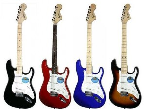 GUITARE ELECTRIQUE FENDER STRATOCASTER MEXICAINE