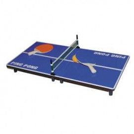 achat mini table de ping pong raquette d 39 occasion cash express. Black Bedroom Furniture Sets. Home Design Ideas
