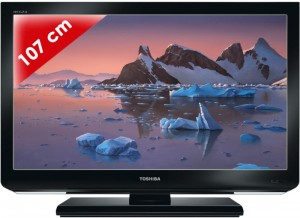 achat tv led toshiba 42hl833f 107 cm d 39 occasion cash express. Black Bedroom Furniture Sets. Home Design Ideas