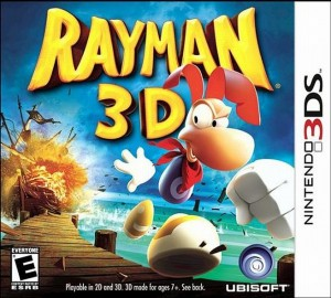 jeu ds rayman 3d. Black Bedroom Furniture Sets. Home Design Ideas