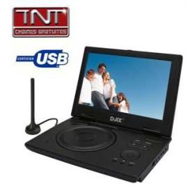 achat lecteur dvd portable d jix pvs 1005 80h tnt d. Black Bedroom Furniture Sets. Home Design Ideas