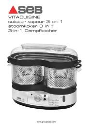 Achat cuiseur vapeur seb vitacuisine d 39 occasion cash express for Cuiseur vapeur seb vitacuisine
