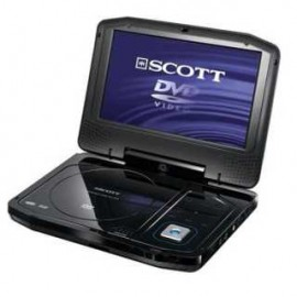 achat lecteur dvd portable scott dpx i865cs d 39 occasion. Black Bedroom Furniture Sets. Home Design Ideas
