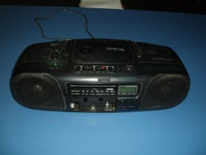 achat poste cd radio k7 sony cfd 10 d 39 occasion cash express. Black Bedroom Furniture Sets. Home Design Ideas