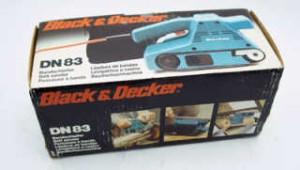 Achat ponceuse black decker dn83 d 39 occasion cash express - Ponceuse black et decker multifonction ...