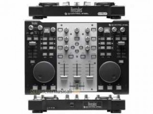 achat controleur dj hercules dj console steel d 39 occasion. Black Bedroom Furniture Sets. Home Design Ideas