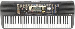 CLAVIER SYNTHETISEUR YAMAHA PSR 195