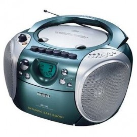 achat poste radio cd k7 philips az1142 d 39 occasion cash express. Black Bedroom Furniture Sets. Home Design Ideas