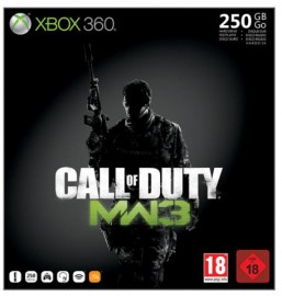 achat console microsoft xbox 360 250go pack call of duty. Black Bedroom Furniture Sets. Home Design Ideas