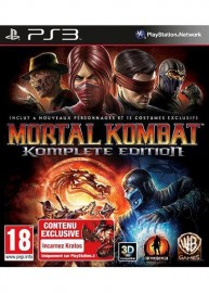 JEU PS3 MORTAL KOMBAT GAME OF THE YEAR EDITION (PASS ONLINE)