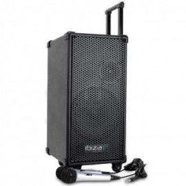 achat enceinte portable amplifiee ibiza port8mini d. Black Bedroom Furniture Sets. Home Design Ideas