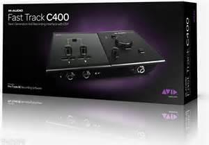 achat carte son externe m audio fast track c400 d 39 occasion. Black Bedroom Furniture Sets. Home Design Ideas