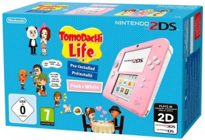 CONSOLE NINTENDO 2DS PACK TOMODACHI LIFE
