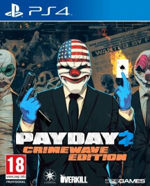 JEU PS4 PAYDAY 2 CRIMEWAVE EDITION