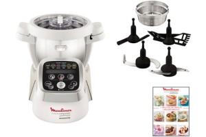 achat robot cuiseur moulinex cuisine companion hf800 d 39 occasion cash express. Black Bedroom Furniture Sets. Home Design Ideas