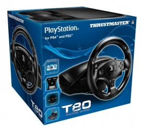 achat volant ps3 ps4 thrustmaster t80 d 39 occasion cash express. Black Bedroom Furniture Sets. Home Design Ideas