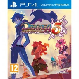 JEU PS4 DISGAEA 5 : ALLIANCE OF VENGEANCE
