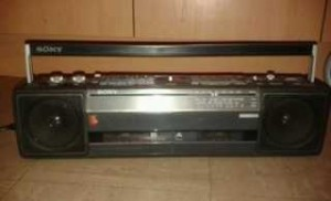 achat poste radio cassette sony d 39 occasion cash express. Black Bedroom Furniture Sets. Home Design Ideas