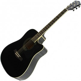 achat guitare electro acoustique ibanez v72ece bk d 39 occasion cash express. Black Bedroom Furniture Sets. Home Design Ideas