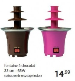 fontaine chocolat casa. Black Bedroom Furniture Sets. Home Design Ideas