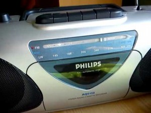 achat poste radio cassette philips aq5150 d 39 occasion cash express. Black Bedroom Furniture Sets. Home Design Ideas