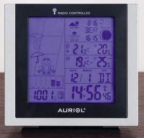 achat station meteo auriol 4 ld2630 d 39 occasion cash express. Black Bedroom Furniture Sets. Home Design Ideas