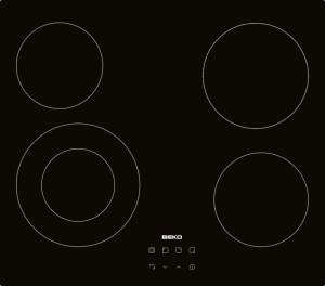 achat plaque vitro ceramique 4 feux beko hic 64402 d 39 occasion cash express. Black Bedroom Furniture Sets. Home Design Ideas