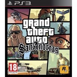 JEU PS3 GRAND THEFT AUTO: SAN ANDREAS
