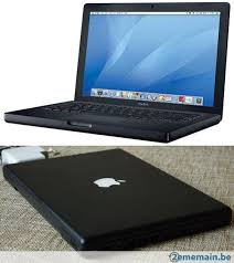 achat macbook 13 apple a1181 noir d 39 occasion cash express. Black Bedroom Furniture Sets. Home Design Ideas