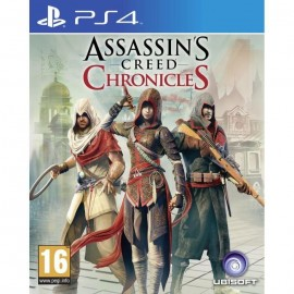 JEU PS4 ASSASSIN'S CREED CHRONICLES TRILOGIE
