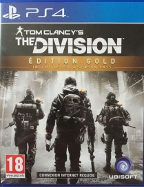 JEU PS4 TOM CLANCY'S THE DIVISION EDITION GOLD