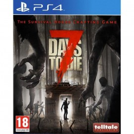 JEU PS4 7 DAYS TO DIE