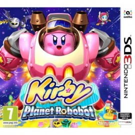 JEU 3DS KIRBY : PLANET ROBOBOT