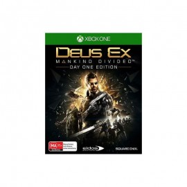 JEU XBONE DEUS EX : MANKIND DIVIDED