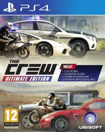 JEU PS4 THE CREW ULTIMATE EDITION