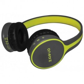 achat casque audio bluetooth on earz jaune d 39 occasion. Black Bedroom Furniture Sets. Home Design Ideas