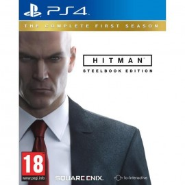 JEU PS4 HITMAN STEELBOOK EDITION