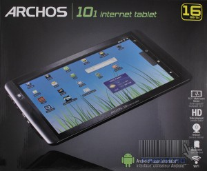 TABELETTE MULTIMEDIA ARCHOS 101 INTERNET TABLET 16GB