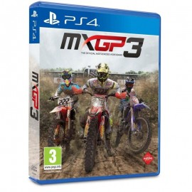 JEU PS4 MXGP 3 : THE OFFICIAL MOTOCROSS VIDEOGAME