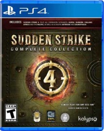 JEU PS4 SUDDEN STRIKE 4