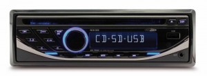 AUTORADIO CD 4X55W USB/SD/RDS CALIBER RCD123