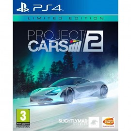 JEU PS4 PROJECT CARS 2 EDITION LIMITEE