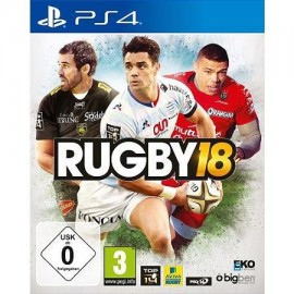 JEU PS4 RUGBY 18