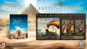 JEU PS4 ASSASSIN'S CREED : ORIGINS - EDITION DELUXE