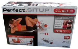 APPAREIL ABDOS PERFECT FITNESS SITUP