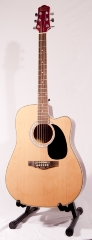 GUITARE ELECTRO ACOUSTIQUE TAKAMINE EG340SC-NS