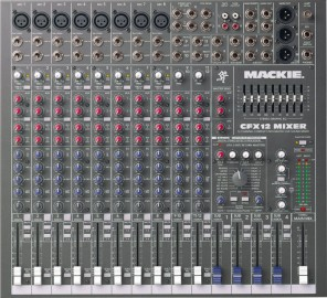 table de mixage mackie cfx12