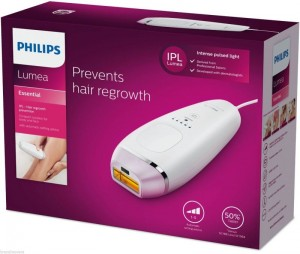 EPILATEUR A LUMIERE PULSEE PHILIPS LUMEA ESSENTIAL BRI861/00
